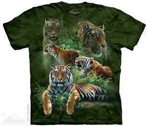 Jungle Tigers - 15-3301 - Youth Tshirt