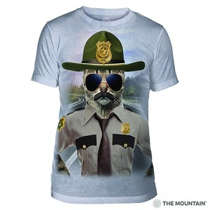Kitten Trooper - 54-5952 - Men's Triblend T-shirt