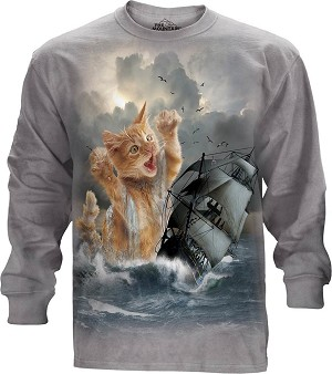 Krakitten - 45-8568 - Adult Long Sleeve T-shirt