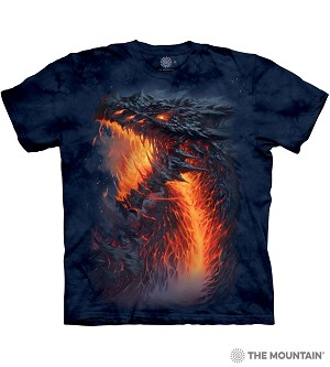 Lavaborn Dragon - 10-6318 - Adult Tshirt