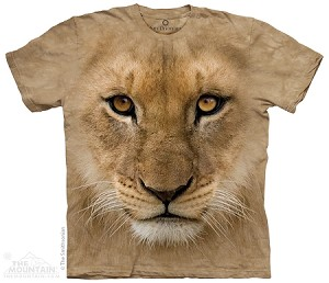 Big Face Lion Cub - Youth Tshirt