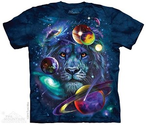 Lion Of Cosmos - Adult Tshirt