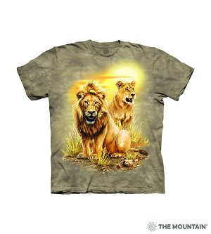 Lion Pair - 15-6317 - Youth Tshirt