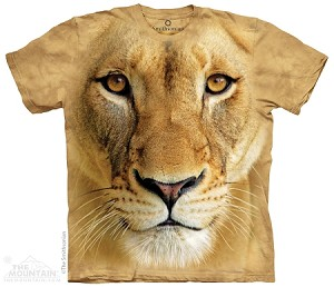 Big Face Lioness - Adult Tshirt