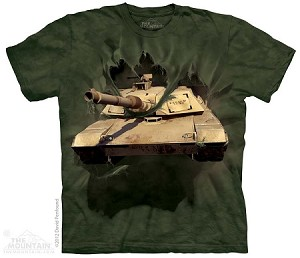 MI Abrams Tank Breakthru - Youth Tshirt