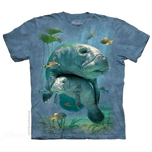 Manatees Collage - 10-5903 - Adult Tshirt