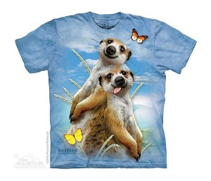 Meerkat Selfie - 15-4997 - Youth Tshirt