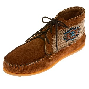 Minnetonka Moccasins 572 - Women's El Paso Ankle Boot - Brown Suede