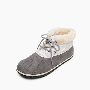 Minnetonka Moccasins 87305 - Women's Tega - Grey - Ankle Boot