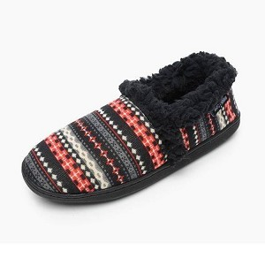 Minnetonka Moccasins 44000 - Women's Dina - Knit Slipper - Black