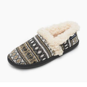 Minnetonka Moccasins 44001 - Women's Dina - Knit Slipper - Tan