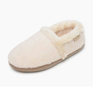 Minnetonka Moccasins 44002 - Women's Dina - Berber Slipper - Cream