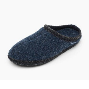 Minnetonka Moccasins 44014 - Women's Winslet - Heather Fleece Slipper - Navy