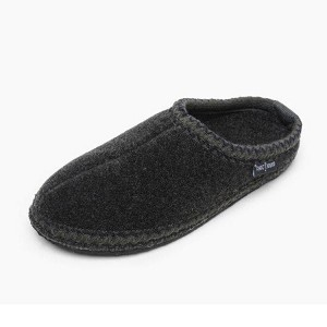 Minnetonka Moccasins 44015 - Women's Winslet - Heather Fleece Slipper - Charcoal