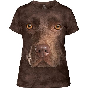 Chocolate Lab - 28-3550 - Ladies Fitted Tee