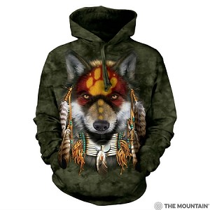 Native Wolf Spirit - 72-4022 - Adult Hoodie