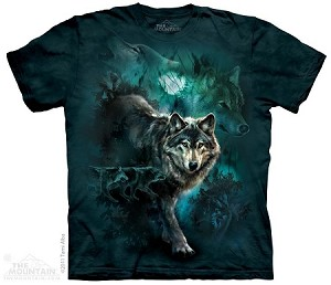 Night Wolves Collage - Youth Tshirt
