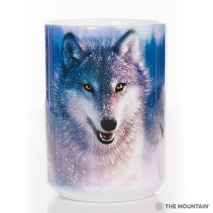 Northern Lights Wolves - 57-4881-0901 - Everyday Mug