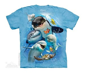 Ocean Selfie - Youth Tshirt - 15-4986