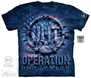 Operation Hat Trick - Inner Spirit Flag  - 10-4330 - Adult Tshirt