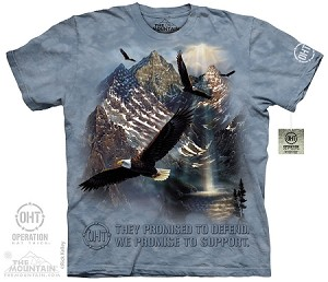 Operation Hat Trick - Mountaintop Freedom - Adult Tshirt