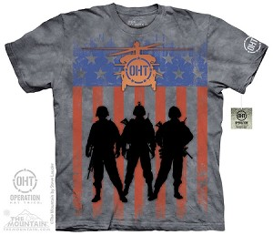 Operation Hat Trick - Three Troops - 10-4820 - Adult Tshirt