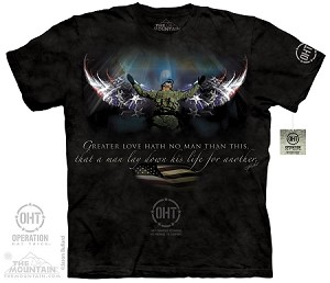 Operation Hat Trick - Winged Soldier - Adult Tshirt