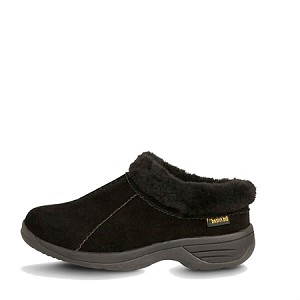 Old Friend Footwear - 441192 - Women's Sheepskin Snowbird Slipper - Black