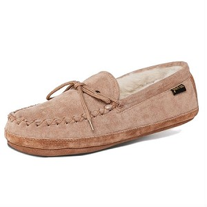 Old Friend Footwear - 481193 - Women's Sheepskin Softsole Moccasin - Chestnut