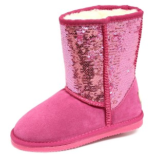 Oomphies For Kids - Kids Sequin Patterned Boot - Pink - K5005