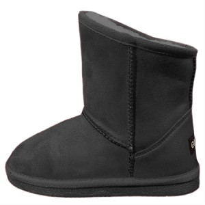 Oomphies For Kids - Sierra Kids Boot - Black Suede - OK1597