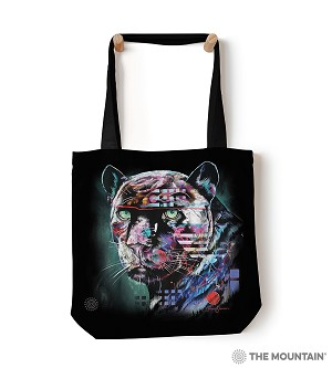 Painted Jaguar - 97-6324 - Everyday Tote