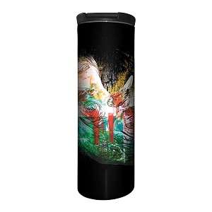 Painted Rhino - 59-6325 - Stainless Steel Barista Travel Mug