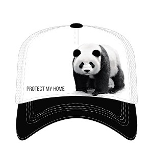 Panda Bear Protect My Home - 76-5555 - Trucker Hat