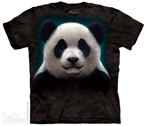 Panda Head - Adult Tshirt