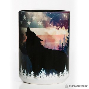 Patriotic Howl - 57-5971-0900 - Everyday Mug