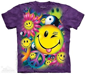 Peace And Happiness - Youth Tshirt