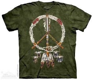 Peace Pipes - Adult Tshirt