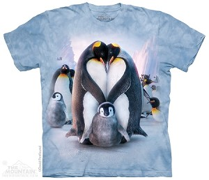 Penguin Heart - 10-3981 - Adult Tshirt