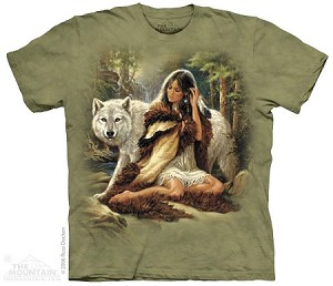 Wolf Protector - Adult Tshirt