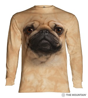 Pug - 45-3369 - Adult Long Sleeve T-shirt
