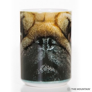 Pug Portrait - 57-3369-0901 - Everyday Mug