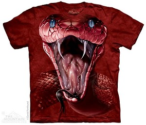Red Mamba Snake - 10-3648 - Adult Tshirt