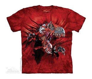 Red Ripper Rex - Youth Tshirt - 15-4864