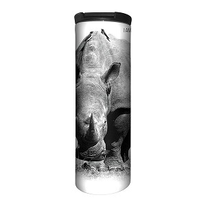 Rhino I Am Not A Trophy - 59-5552 - Stainless Steel Barista Travel Mug