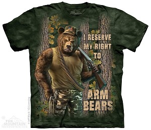 I Reserve My Right To Arm Bears - Adult  T-shirt