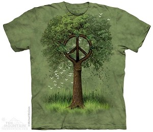 Roots of Peace - Adult Tshirt