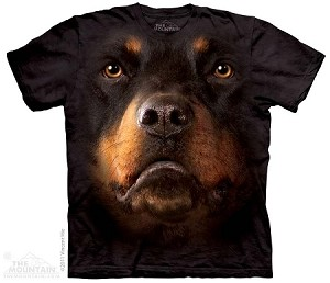 Rottweiler Face - Youth Tshirt