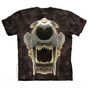 Sabertooth Skull - 15-5897 - Youth Tshirt