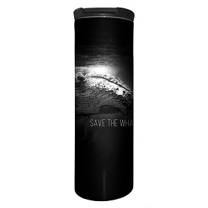Save The Whales - 59-5981 - Stainless Steel Barista Travel Mug